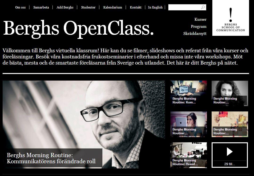 Berghs Open Class 1405